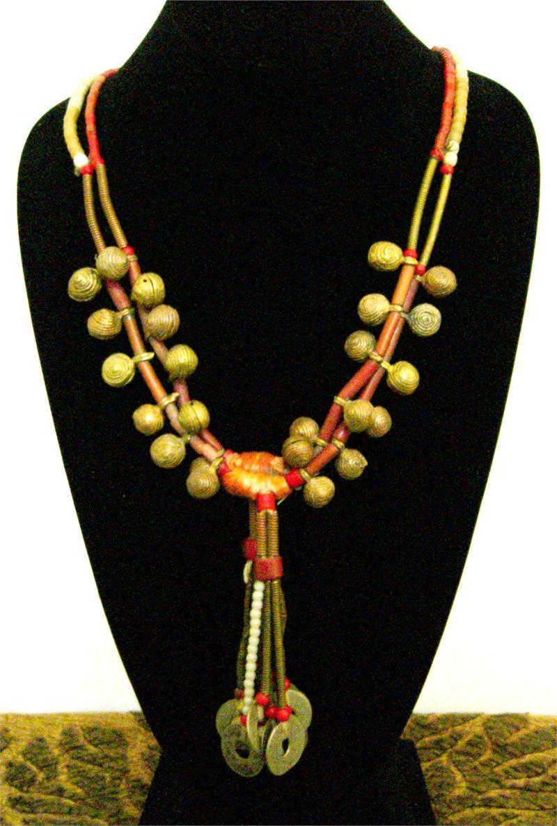Tribal Jewelry - Yoruba African Tribal Necklace