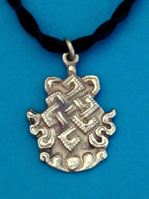 Eternal Knot - Endless Knot necklace