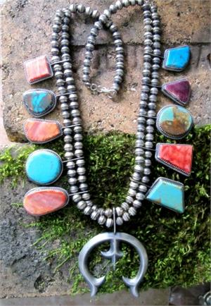 Turquoise Rings And Sterling Silver Jewelry. Native American And