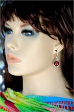 Earrings on manikin